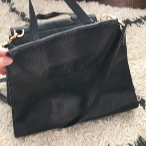 Kate Spade Saturday black leather bag